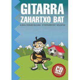 Gitarra zahartxo bat - Libro de partituras para Guitarra