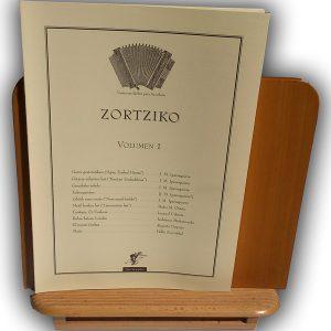 Zortziko acordeón partitura