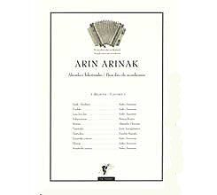 Arin Arinak acordeón partitura