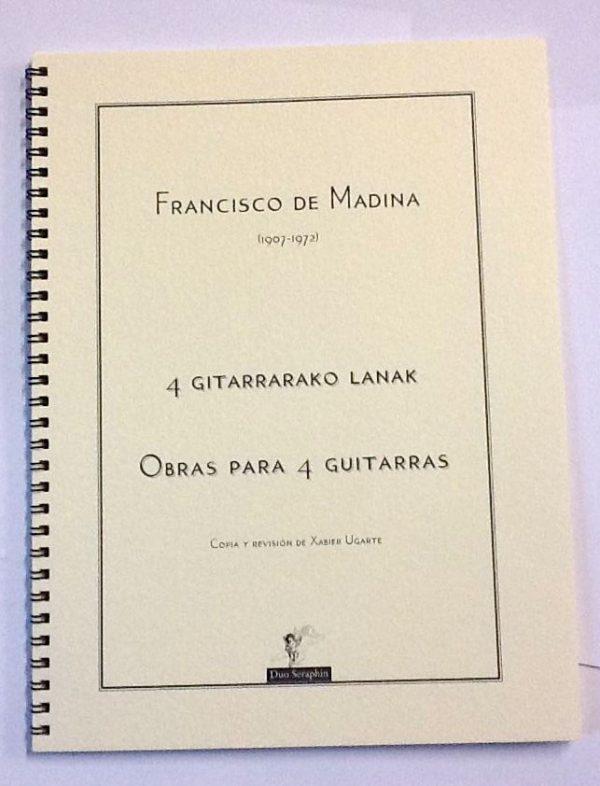 Obras para cuatro Guitarras Aita Madina