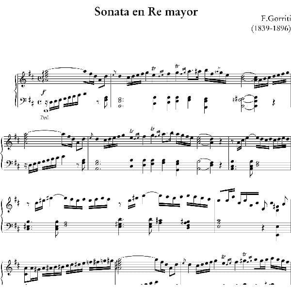 Sonata en Re - Felipe Gorriti