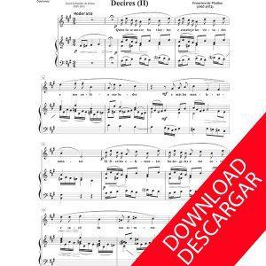Canciones religiosas Aita Madina Partitura Voz Órgano