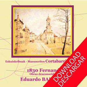 Manuscritos Cortabarria Eduardo Baranzano