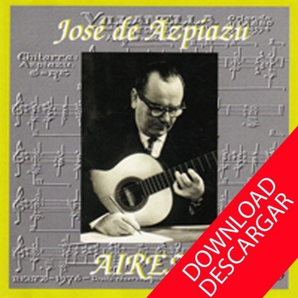José de Azpiazu homenaje Guitarra Grabación