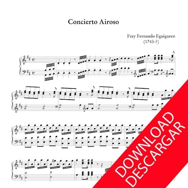 Concierto airoso - Fray Fernando Eguiguren Órgano