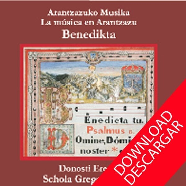 Benedicta- Donosti Ereski Gregoriano