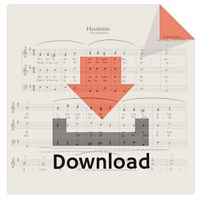 Descarga de partituras. Downloadable sheet music. PDF