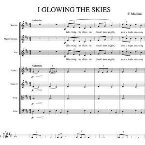 Glowing the skies - Aita Madina