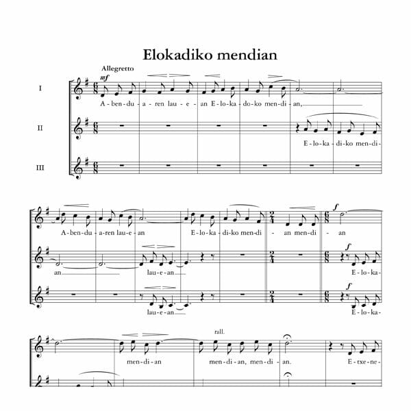 Elokadiko Mendian - Tomas Garbizu