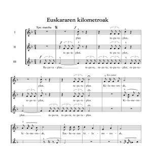 Euskararen kilometroak - Tomas Garbizu