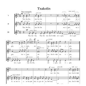 Txakolin - Ala baita - Tomas Garbizu