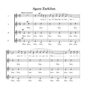 Agure zarkilun - Ala baita - Tomas Garbizu