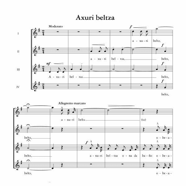 Axuri beltza - Ala baita - Tomas Garbizu