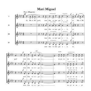 Mari Miguel - Ala baita - Tomas Garbizu