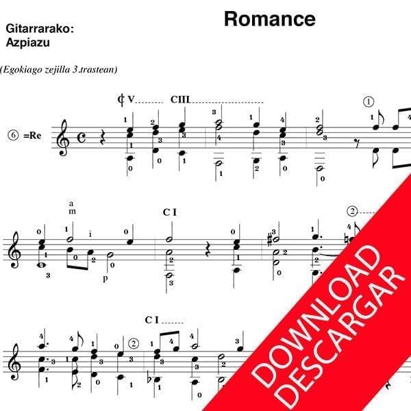 Romance - Miguel de Aritzu