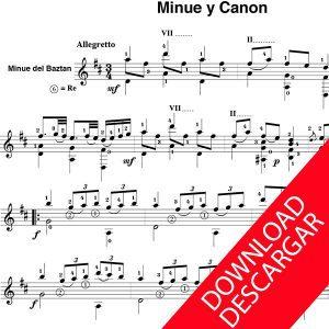 Minué y canon - Anónimo - Arr.: José de Azpiazu