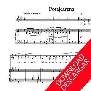 Potajearena - Letra: Indalezio Bizkarrondo, Bilintx