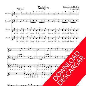 Kalejira (txistu y coro) - Aita Madina