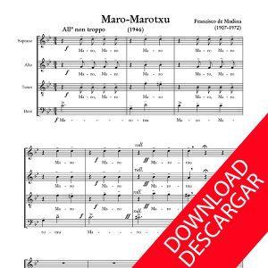 Maro-marotxu - Aita Madina