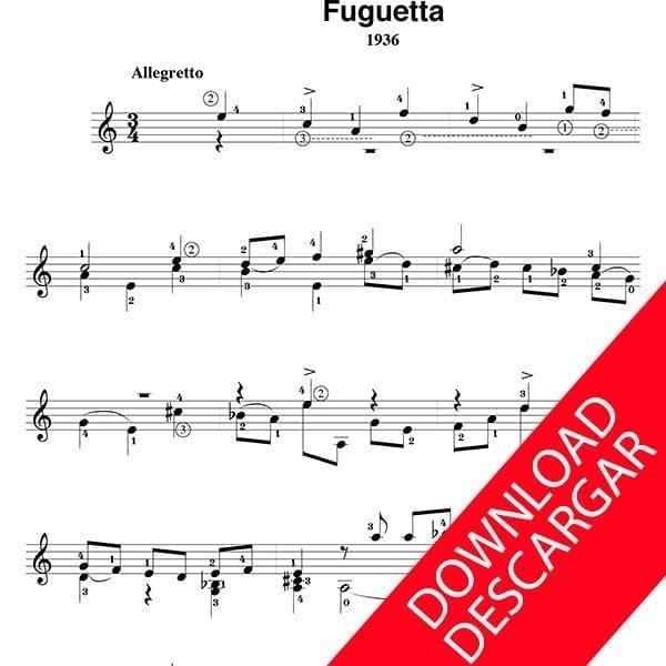 Fuguetta - José de Azpiazu
