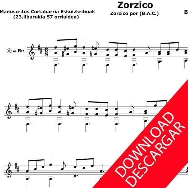 Zortziko - Blas Andrés Cortabarria