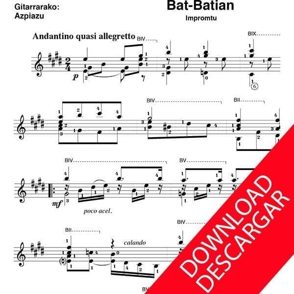 Bat batian - Aita Donostia - José de Azpiazu