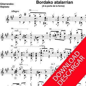 Bordako atalarrian - Aita Donostia - José de Azpiazu