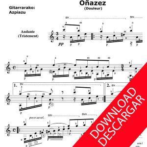 Oinazez - Aita Donostia - José de Azpiazu