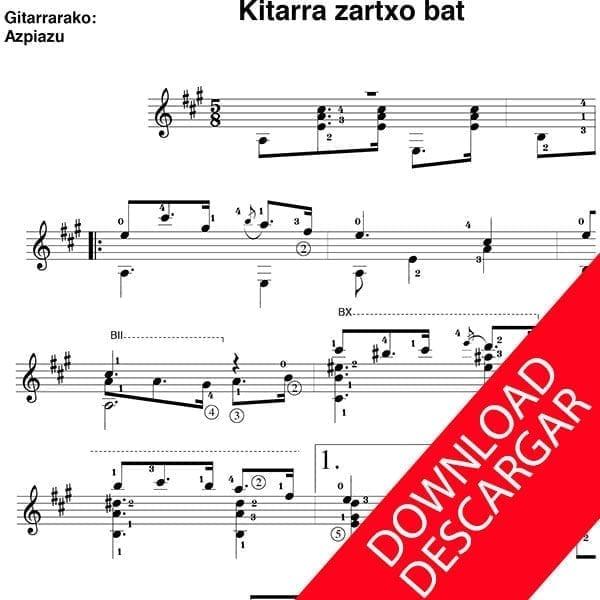 Kitarra zahartxo bat - Jose Maria Iparraguirre - José de Azpiazu