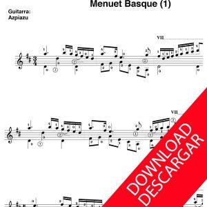 Menuet Basque (1) - José de Larrañaga - José de Azpiazu
