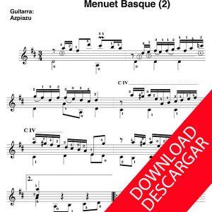 Menuet Basque (2) - José de Larrañaga - José de Azpiazu