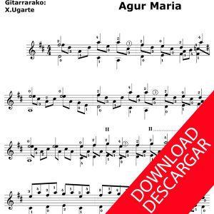 Agur Maria - Aita Madina - Xabier Ugarte