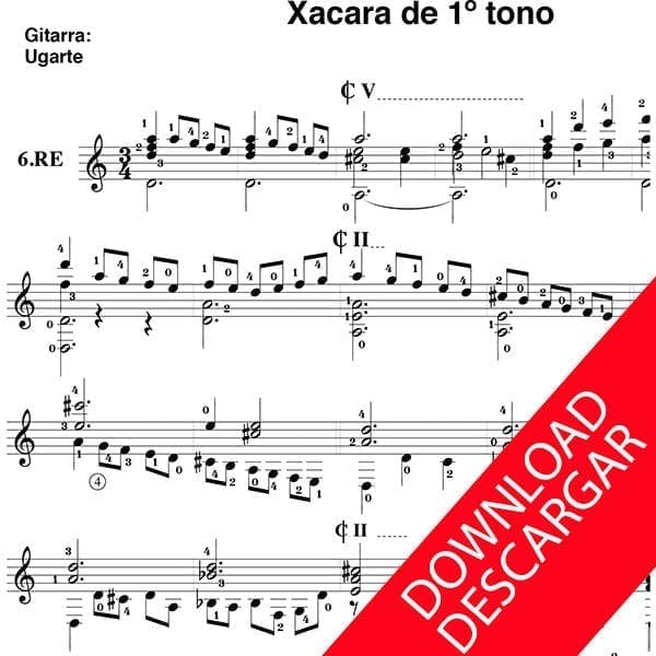 Xacara de 1er tono - Fray Bartolomeo de Olagüe - Xabier Ugarte