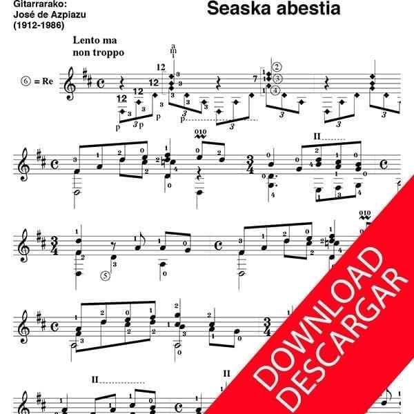 Seaska abestia - G. Olaizola - José de Azpiazu