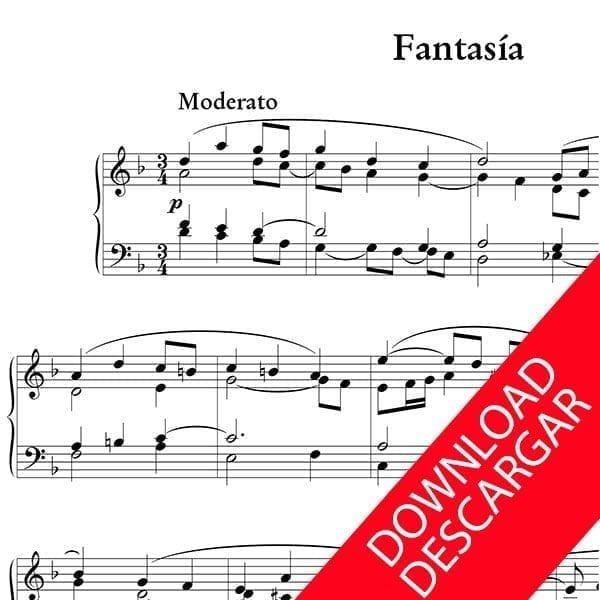 Fantasía - José María Beobide - Partitura para Órgano
