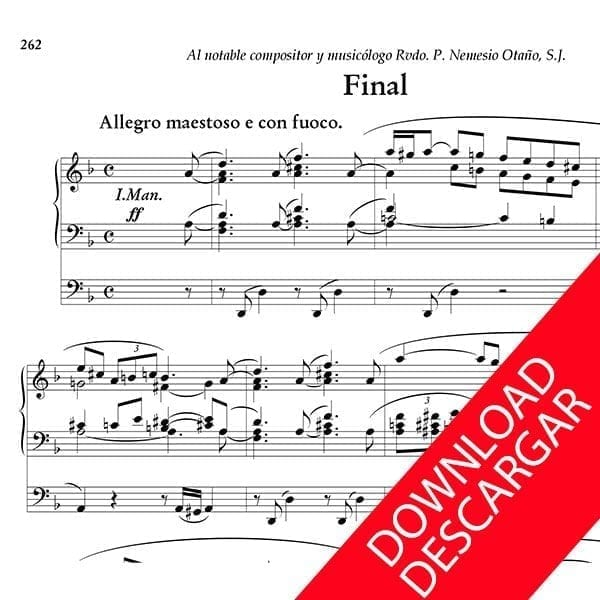 Final - Luis Urteaga - Partitura para Órgano