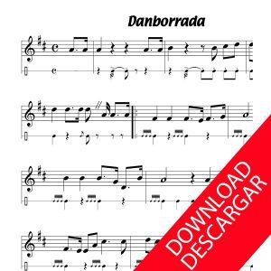 Danborrada - Donostiako martxa - Tamborrada - Marcha de San Sebastián - Partitura para Guitarra