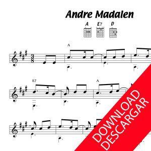 Andre Madalen - Partitura para Guitarra