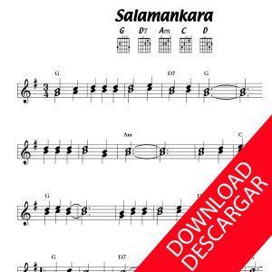 Salamankara - Partitura para Guitarra