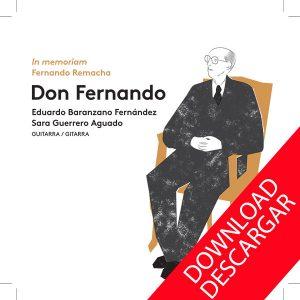 Don Fernando - Fernando Remacha, in memoriam - Música en descarga MP3