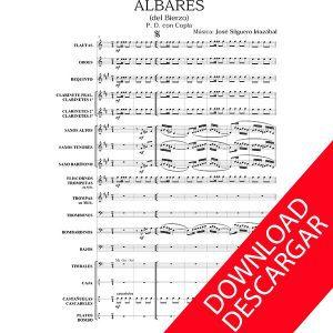 Albares del Bierzo - José Silguero - Partitura para Banda