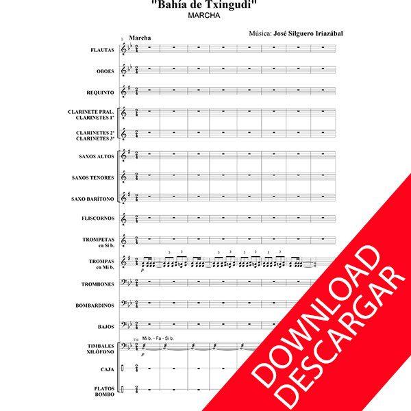 Bahía de Txingudi - José Silguero - Partitura para Banda