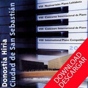 Concurso de Piano Ciudad de San Sebastián - Grabaciones 2001