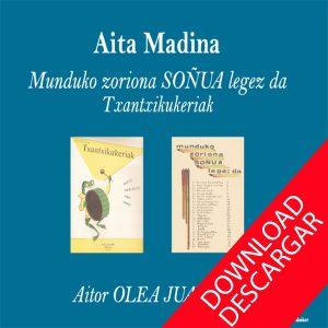 Txantxikukeria - Aita Madina - Aitor Olea