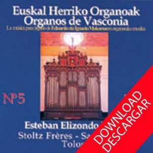 Órgano-Santa-María-Tolosa - Mocoroa - Esteban Elizondo