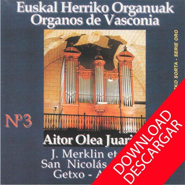 Órgano J. Merklin et Cie de la iglesia de San Nicolás de Algorta - Aitor Olea