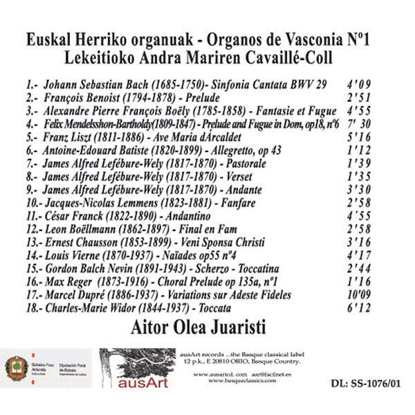 DaArus011 - Órgano de Lekeitio - Aitor Olea