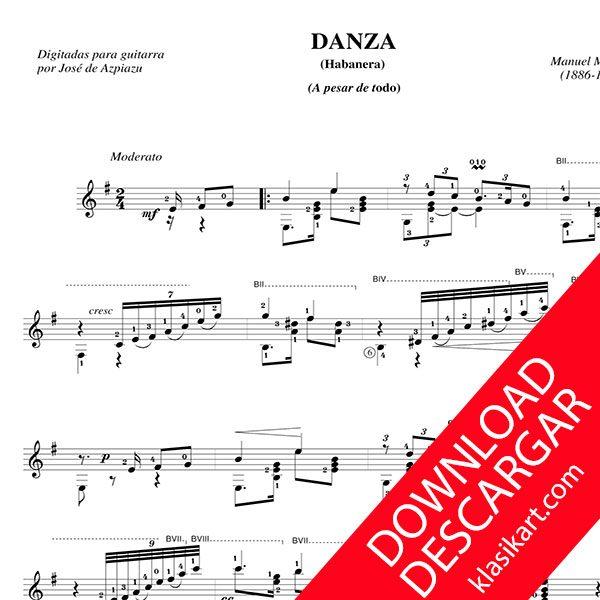 2 Piezas Manuel M. Ponce - Partitura para guitarra