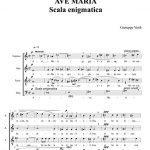 AVE MARIA - Scala enigmatica - For SATB Choir (Musica sacra) (Italian Edition) Versión Kindle