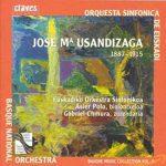 Basque Music Collection Vol. II Jose Mª Usandizaga 1887-1915